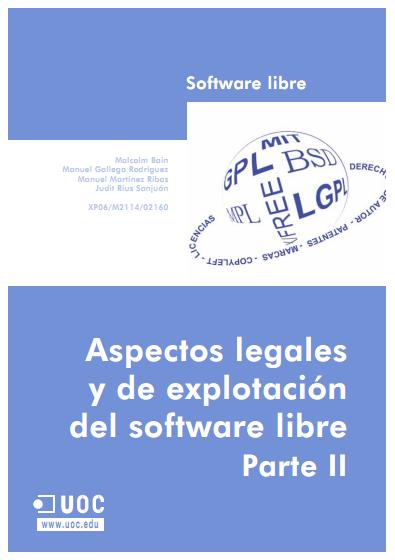 Aspectos legales y de explotación del software libre. Parte II