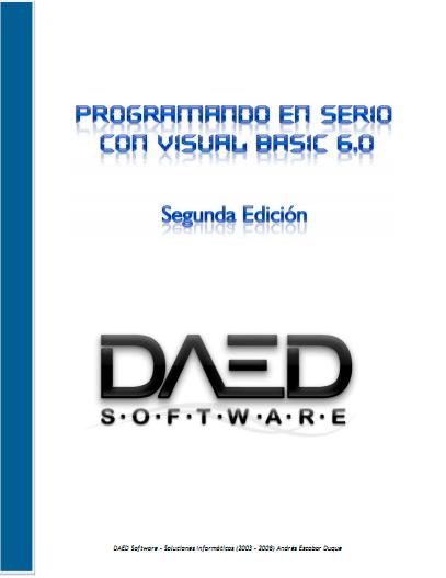 Programando en serio con Visual Basic 6.0