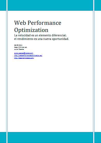 Web Performance Optimization (Ed. Español)