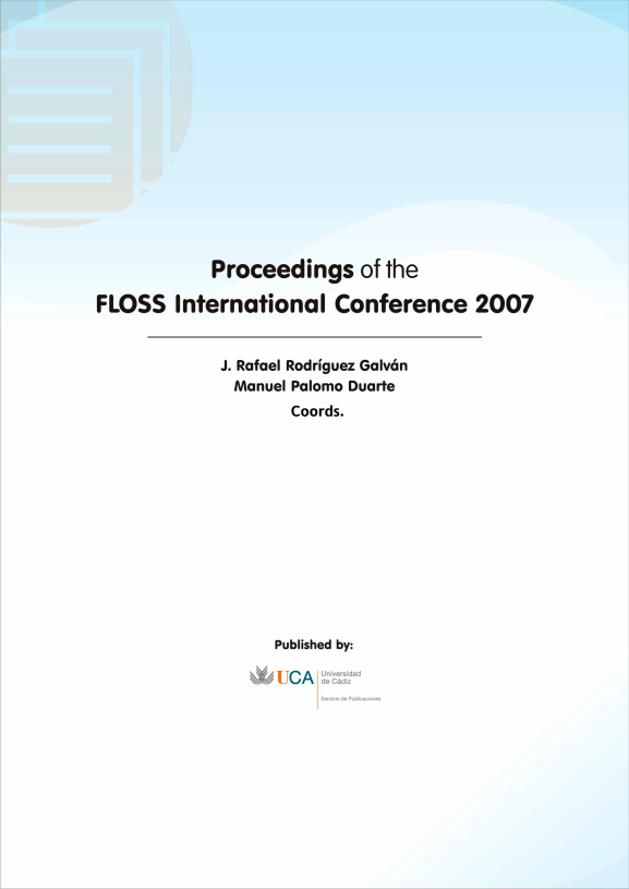 Proceedings of the FLOSS International Conference 2007