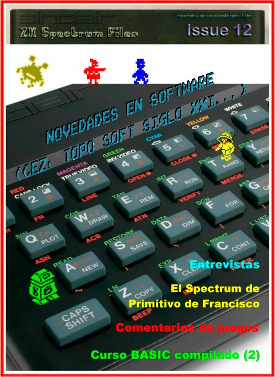 Revista ZX Spectrum Files #12