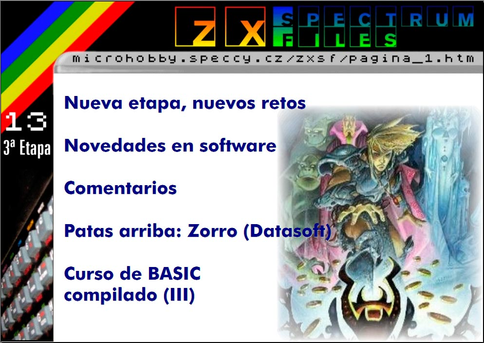 Revista ZX Spectrum Files #13