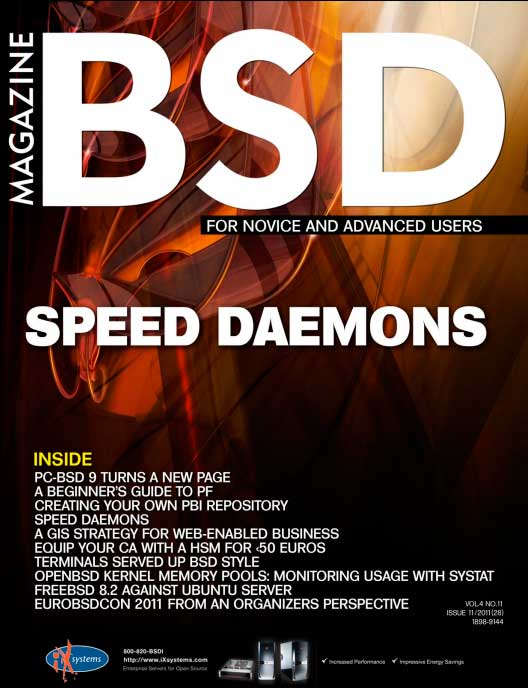 BSD Magazine #11 (2011)