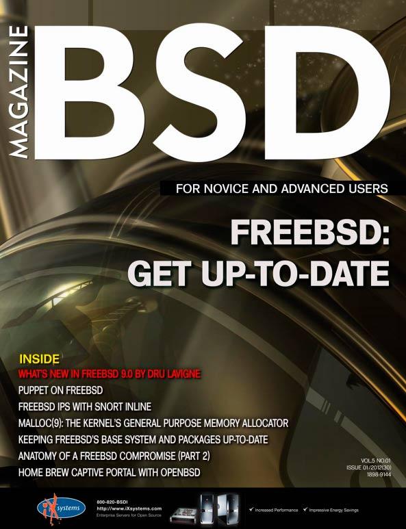 BSD Magazine #1 (2012)
