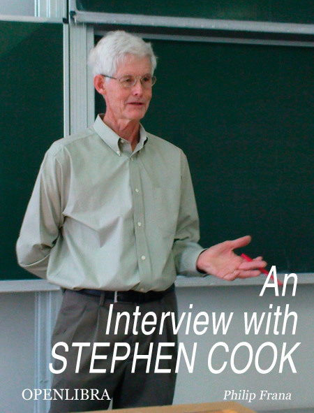 An Interview with Stephen Cook