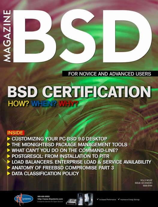 BSD Magazine #2 (2012)