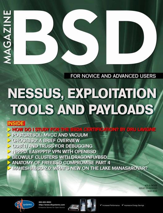 BSD Magazine #3 2012