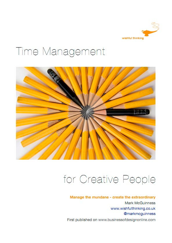 Time Management for Creative People