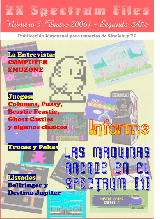 Revista ZX Spectrum Files #5