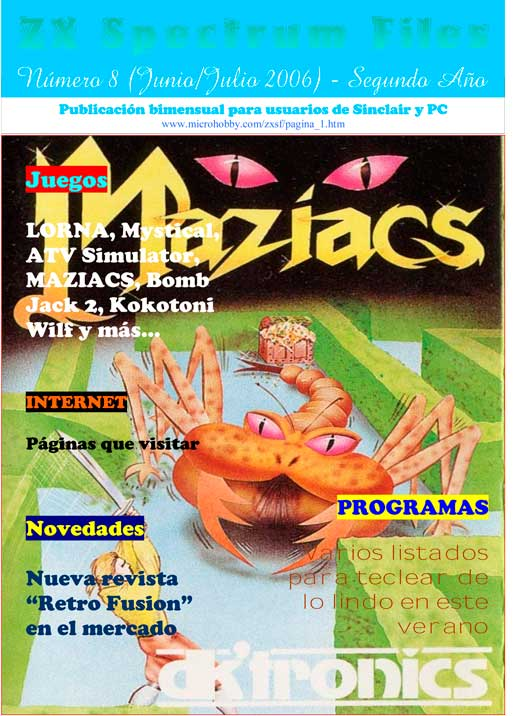 Revista ZX Spectrum Files #8