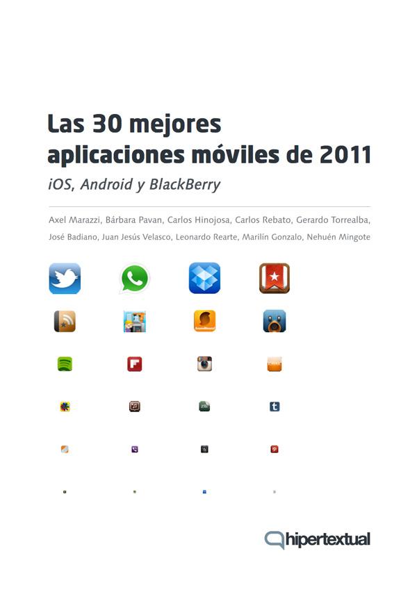 Las 30 mejores aplicaciones moviles de 2011