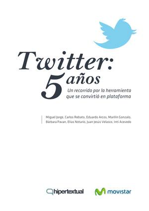 Twitter: 5 años