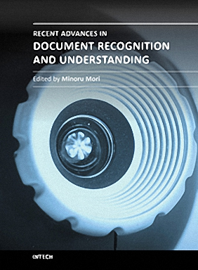 Recent Advances in Document Recognition and Understanding