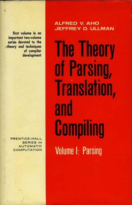 The theory of parsing, translation, and compiling