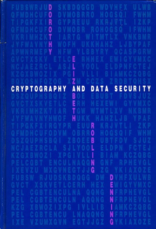 Cryptography and data security