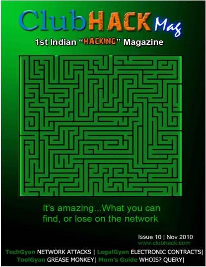 Club Hack Magazine #10