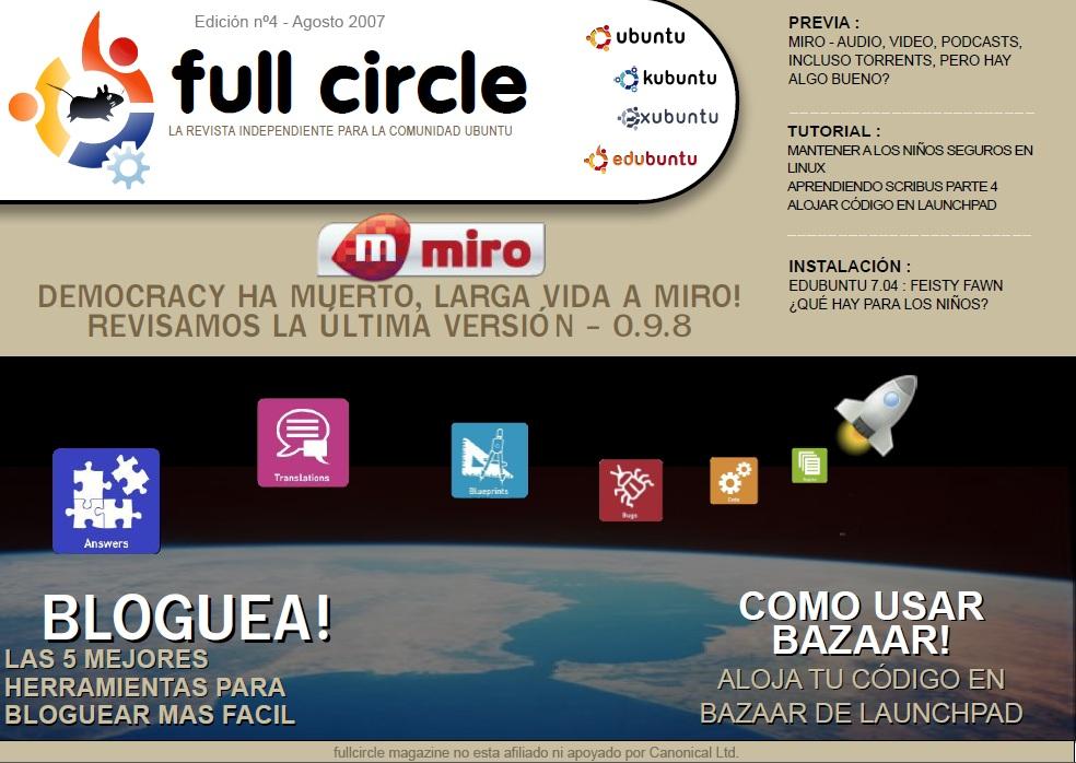 Full Circle Magazine #4