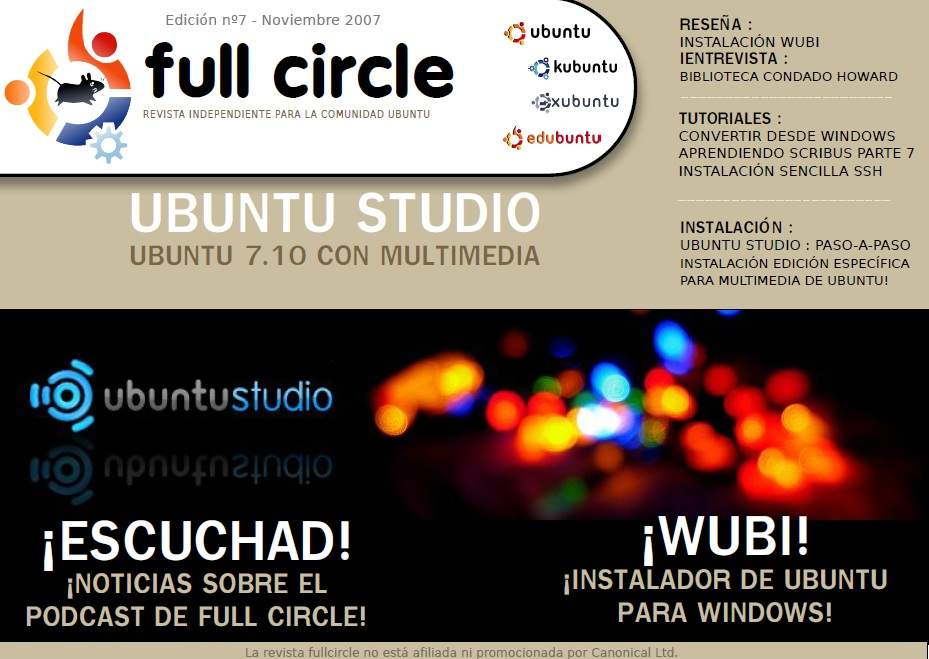 Full Circle Magazine #7