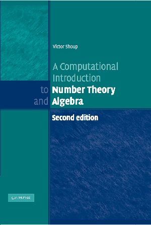 A Computational Introduction to Number Theory and Algebra v2