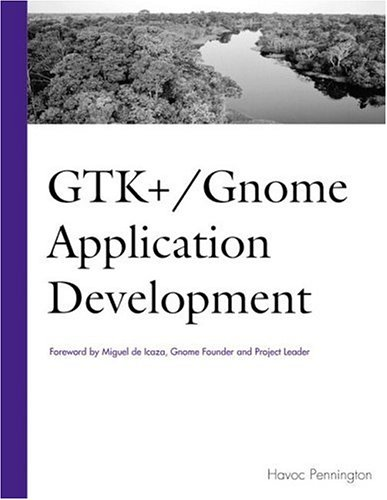 GTK+ / Gnome Application Development