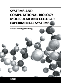 Systems and Computational Biology - Molecular and Cellular Experimental Systems