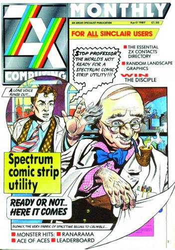 ZX Computing Magazine (Abril 1987)