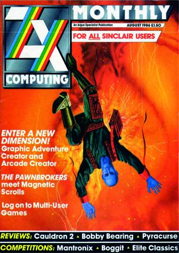 ZX Computing Magazine (Agosto 1986)