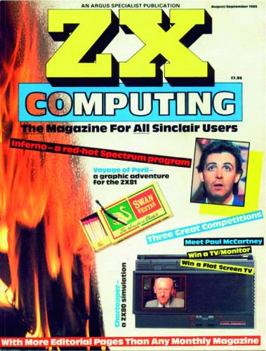ZX Computing Magazine (Agosto-Septiembre 1985)