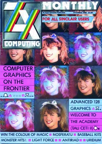 ZX Computing Magazine (Diciembre 1986)