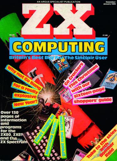 ZX Computing Magazine (Diciembre-Enero 1985)