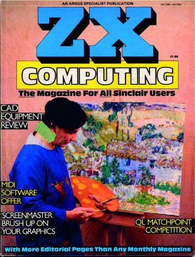 ZX Computing Magazine (Diciembre-Enero 1986)
