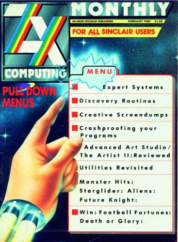 ZX Computing Magazine (Febrero 1987)