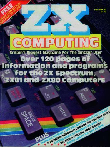 ZX Computing Magazine (Febrero-Marzo 1983)