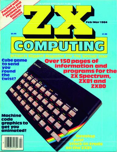 ZX Computing Magazine (Febrero-Marzo 1984)