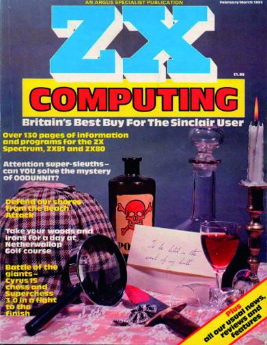ZX Computing Magazine (Febrero-Marzo 1985)