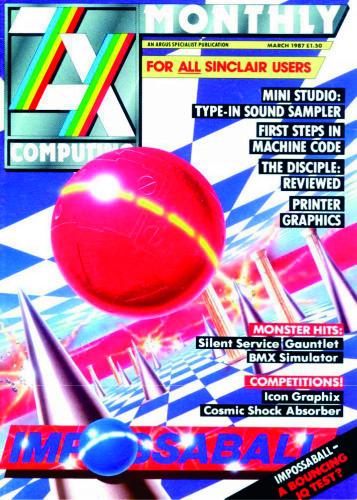 ZX Computing Magazine (Marzo 1987)