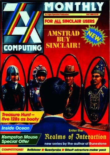 ZX Computing Magazine (Mayo 1986)
