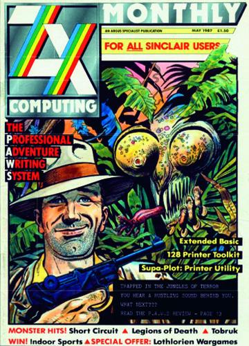 ZX Computing Magazine (Mayo 1987)