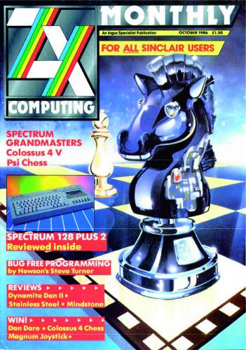 ZX Computing Magazine (Octubre 1986)