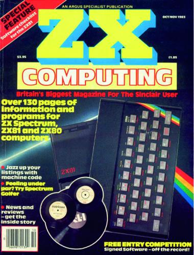 ZX Computing Magazine (Octubre-Noviembre 1983)