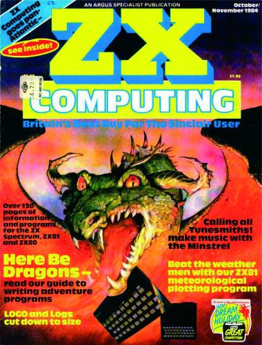 ZX Computing Magazine (Octubre-Noviembre 1984)