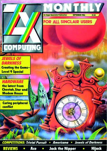 ZX Computing Magazine (Septiembre 1986)