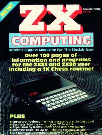 ZX Computing Magazine (Verano 1982)