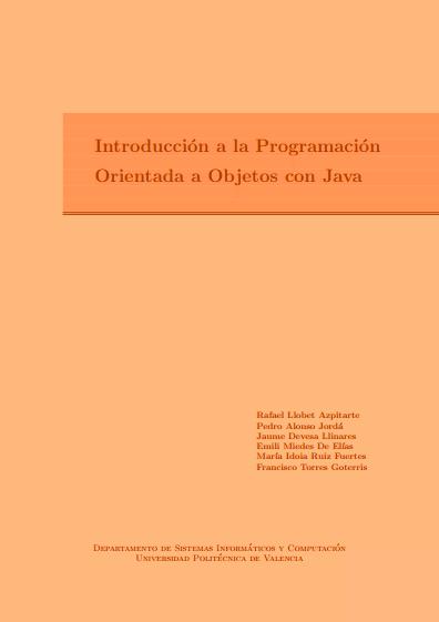 Introducción a la Programación Orientada a Objetos con Java