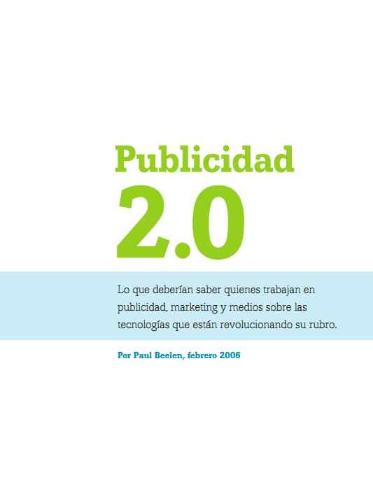 La _Publicidad 2.0