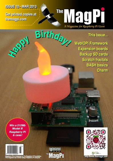 The MagPi #10