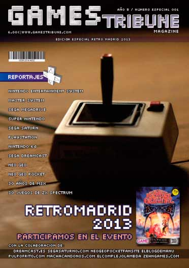 Games Tribune Magazine. Especial #1 RetroMadrid 2013