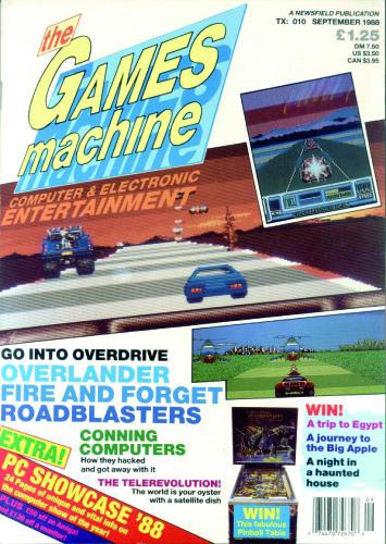 The Games Machine #10