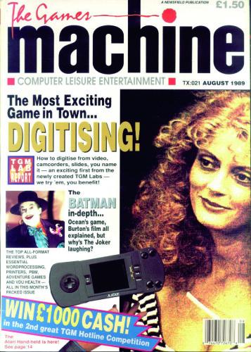 The Games Machine #21