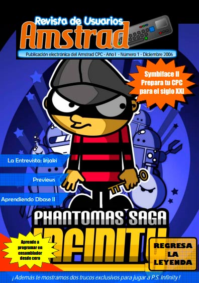 Revista de Usuarios Amstrad #1